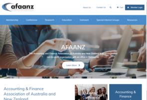 Accounting & Finance Association of Australia and New Zealand (AFAANZ)