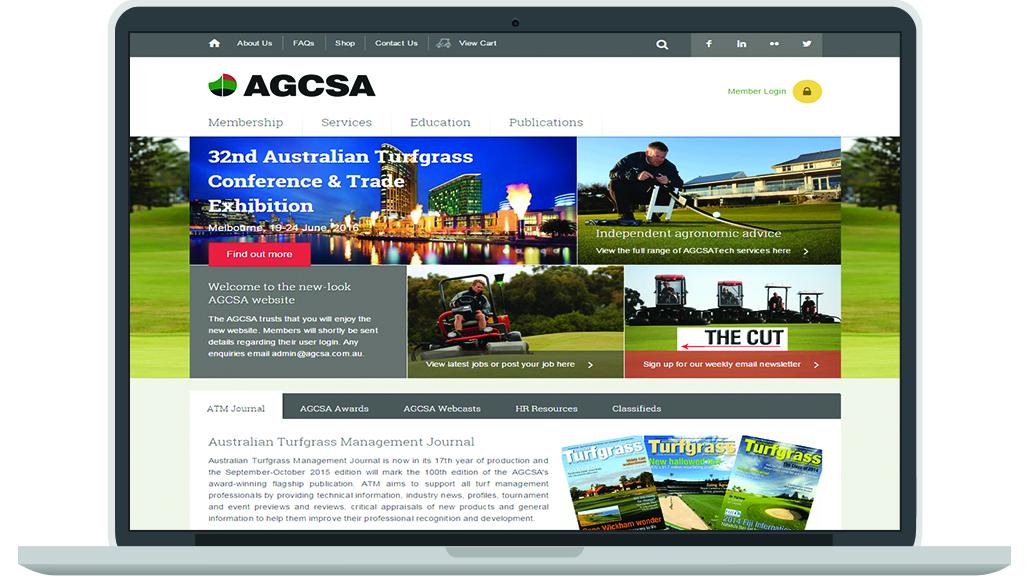 AGCSA New membership website