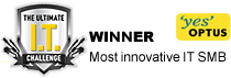 Optus Ultimate IT Challenge Winner Most Innovative SMB