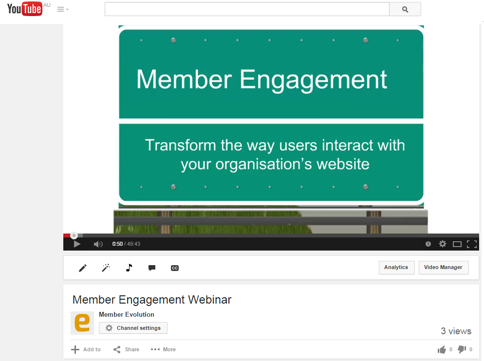 Member Engagement Video